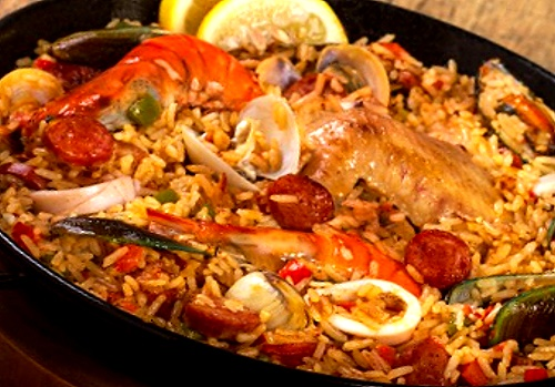 filipino paella recipe