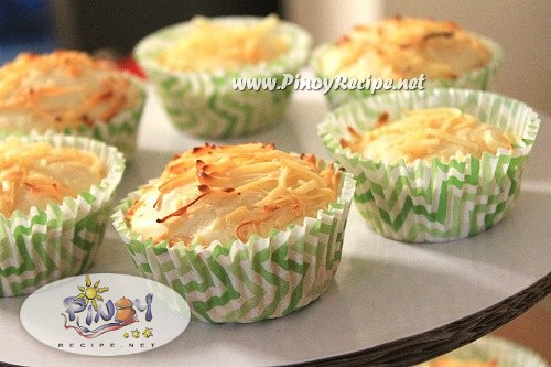 Filipino cheese cupcakes recipe