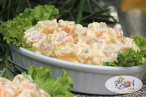 Potato Salad with Ham