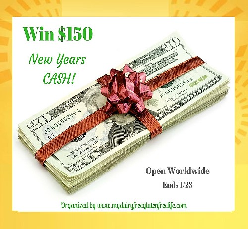 New Year Cash 150$ Giveaway