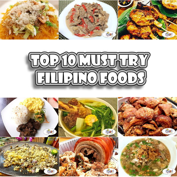 Top 10 must try Filipino Foods